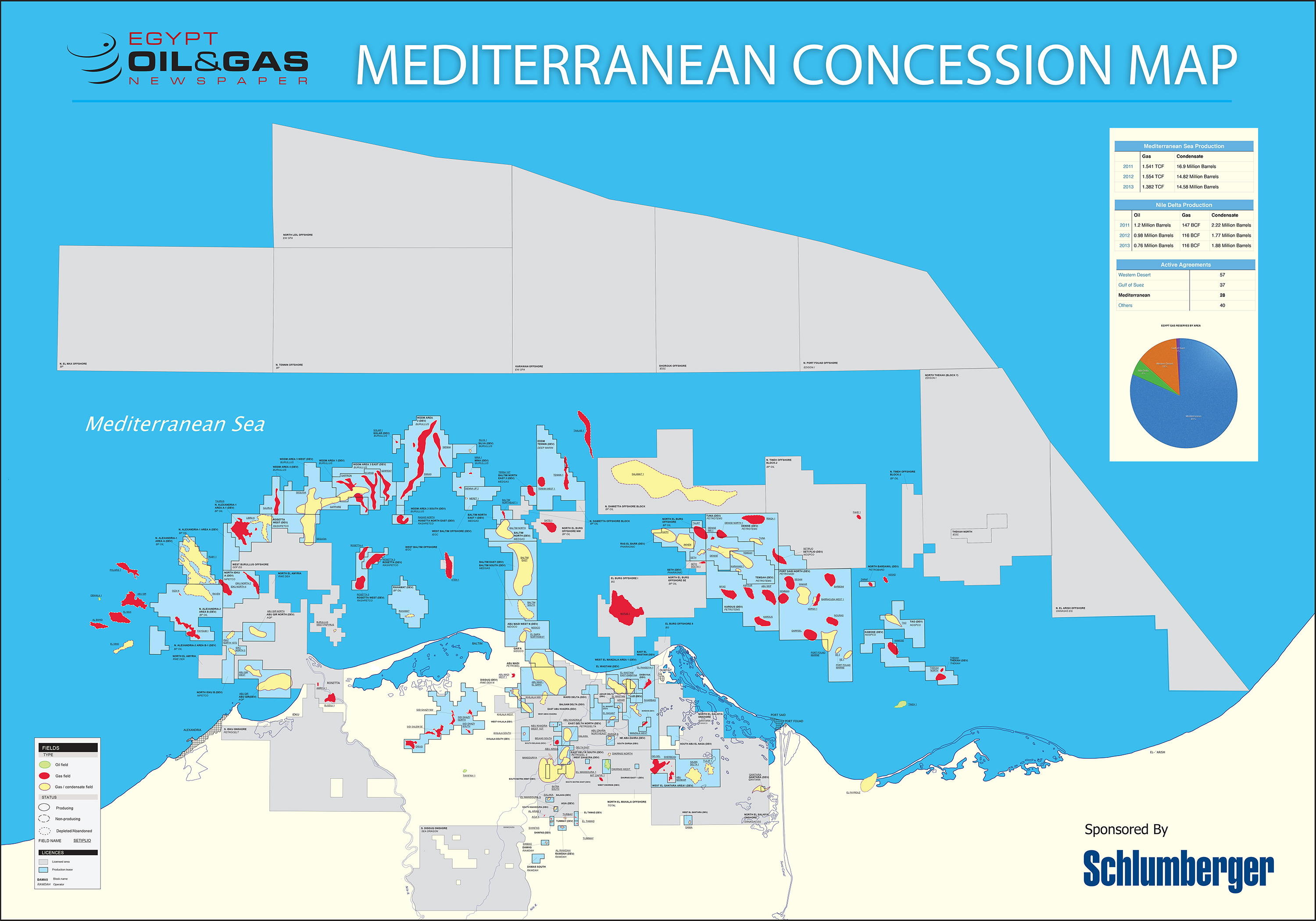 Mediterranean Concession Map