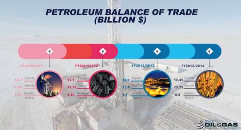 Petroleum Balance of Trade