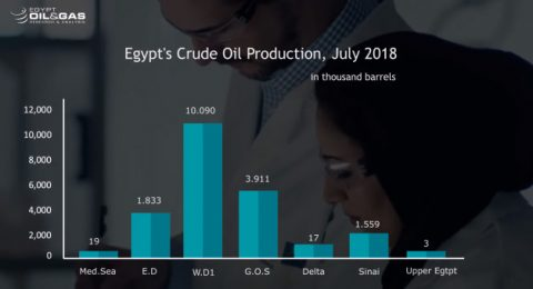 Egypt's Monthly Production Update July 2018