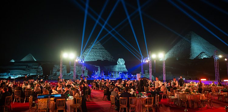 Methanex Celebrates Successful Partnership with Egypt By the Pyramids of Giza