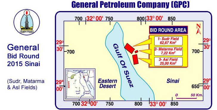 GPC Invites E&P Companies to New Bid Round in South Sinai