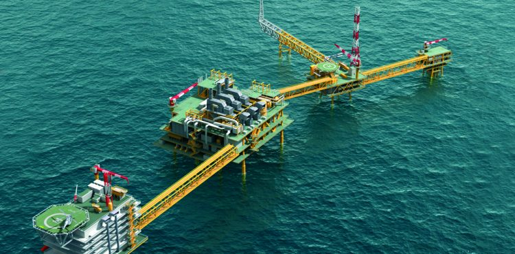 Total Flares Out Ofon Offshore Development Field in Nigeria
