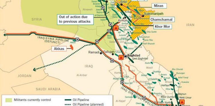 Iraq Increases Basrah Crude Prices to Asia, Reduces Them for U.S. and Europe