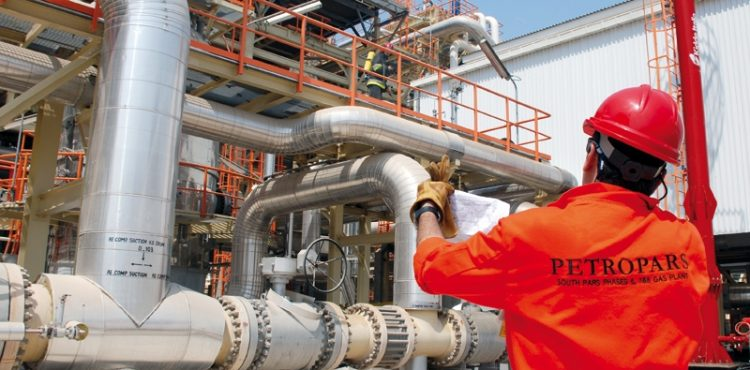 Iran's South Pars Gas Decline