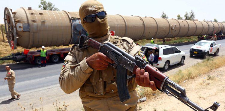 Iraq Government and Autonomous Kurd Oil Export Standoff