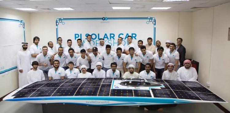 Abu Dhabi Students Bring Japanese Solar Car to Life