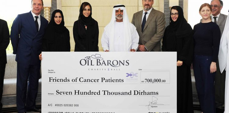 Five-Star Oil Baron Donations for Cancer Patient Charity