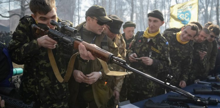 Ukraine Struggles With Gun Control to Protect Oil Industry