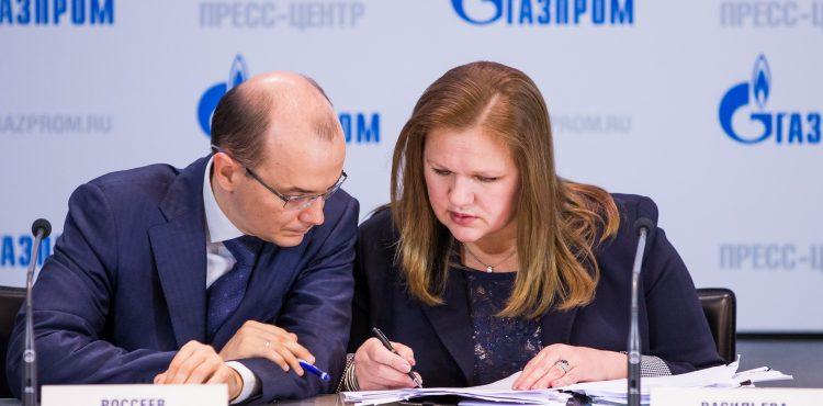 Gazprom Reports Huge Loss