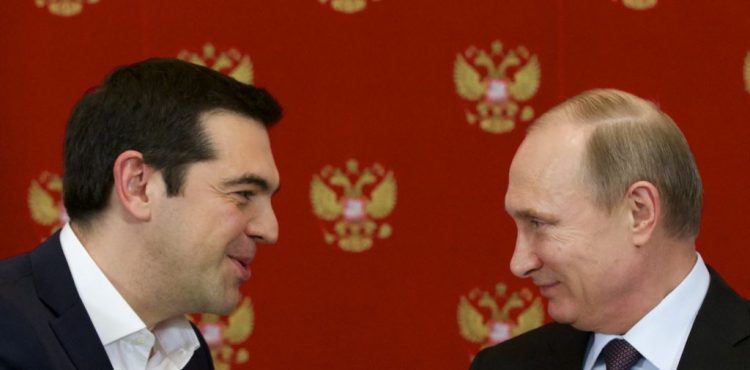 Russian Relations with In-Debt Greece Expand to Gas