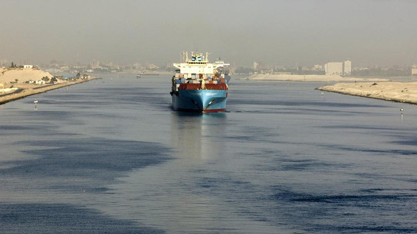 Ships Collide in Egypt's Suez Canal