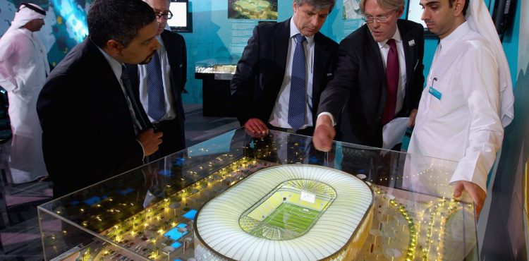 Oil Prices Force Qatar to Borrow for World Cup Plans