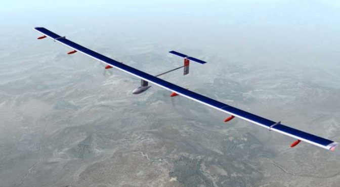 First 100% Solar Fueled Plane Introduced in Cairo Event