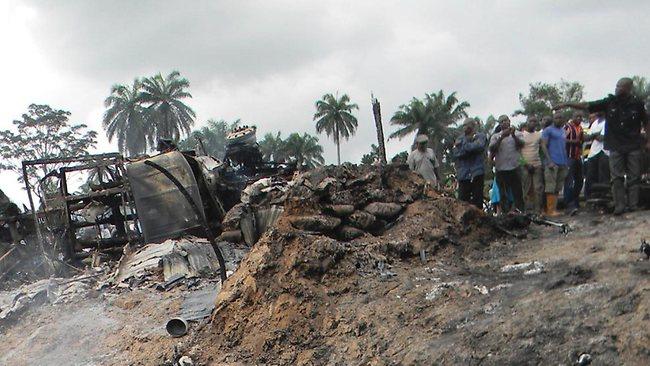 Oil Tanker Explodes in Southern Nigeria Killing 69