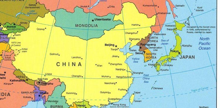China Constructing New Platform in East China Sea