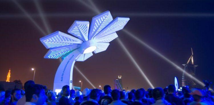 Dubai Solar Palm Trees Provide Gridless, Free Telecoms Power