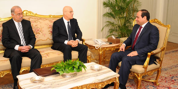 Egypt's Sisi Meets with Eni's CEO
