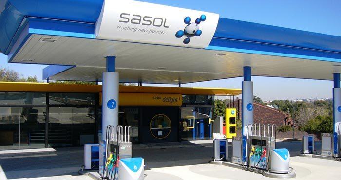 Sasol Entered Oil Put Options