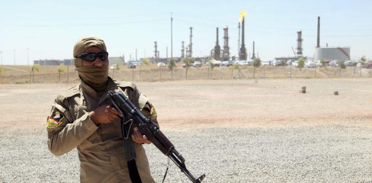 Gunmen Bombed Iraqi Bai Hassan Oil Field