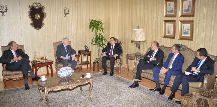 Tarek El Molla in Energy Talks with Head of EDF