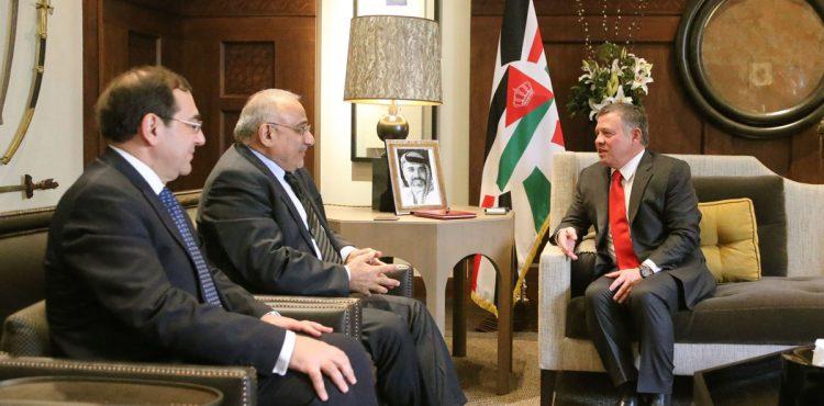 Tarek El Molla Meets with King Abdullah