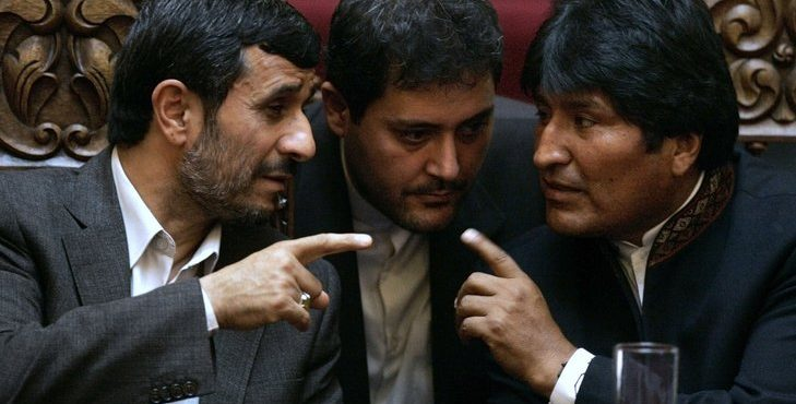 Iran Plans Gas Offensive as Bolivian President Announces Visit