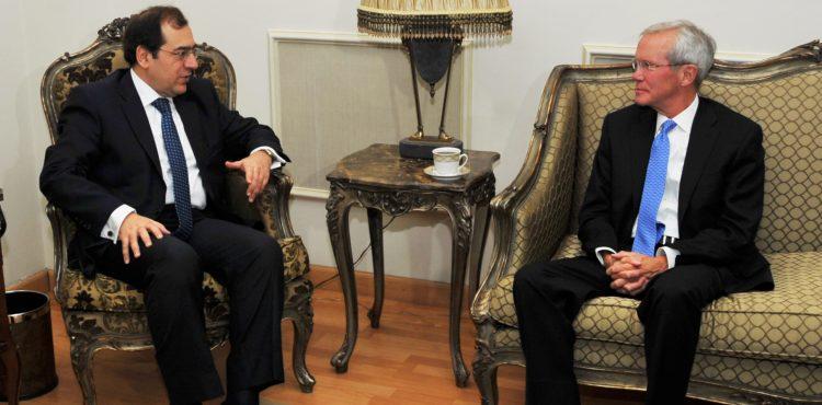 Tarek El Molla Meets with Bechtel's Regional Head