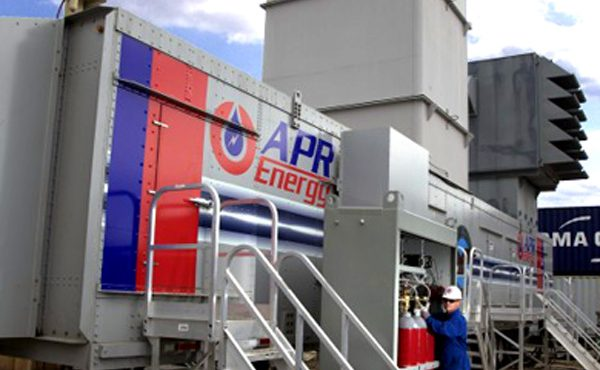 APR Energy Commissions Gas Turbine Power Plant in Egypt