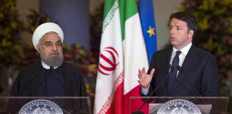 Italy and Iran Ink Energy Deals Potentially Worth Billions