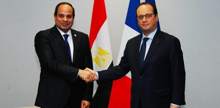 French President Visits Cairo to Boost Bilateral Economic Ties