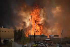 36 Oil Tanks Catch Fire in New Mexico, USA