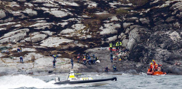 North Sea Helicopter Crash: 'Technical error to blame'