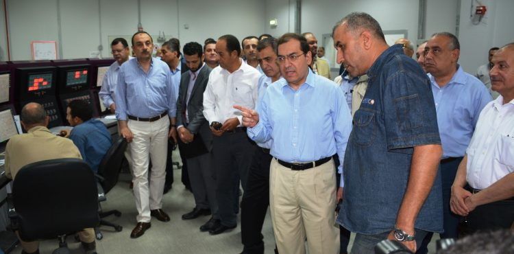 Oil Minister Visits Petrochemical Companies