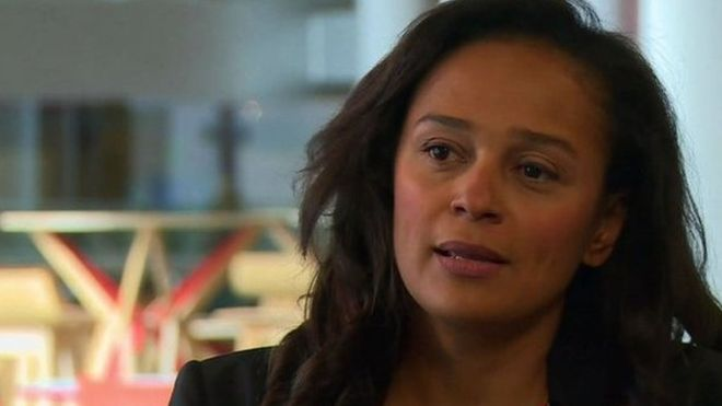 Angolan President's Daughter in Charge of Sonangol