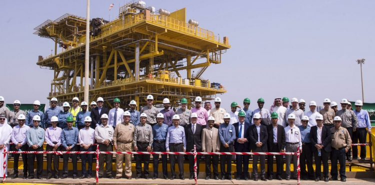 Saudi Arabia Unveils Offshore Facility