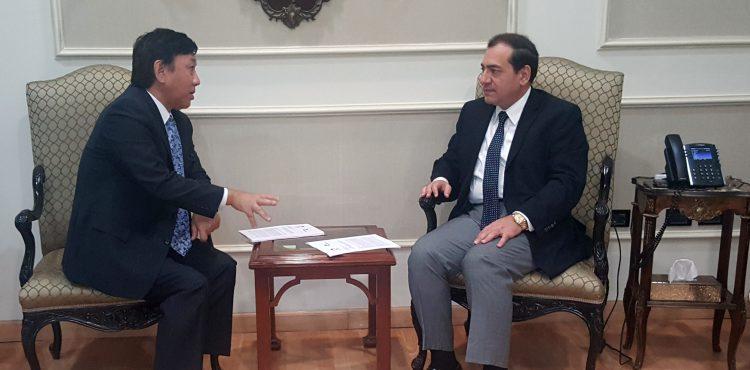 El Molla Met with Japan's Ambassador
