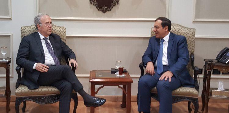El Molla Met with Spain's Ambassador to Cairo