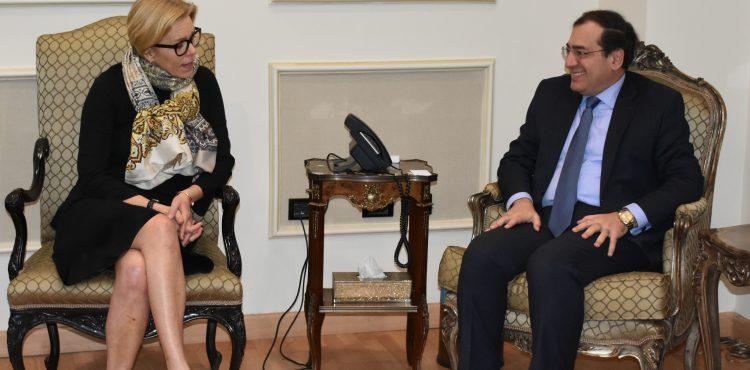 El Molla Met with Engie's Managing Director