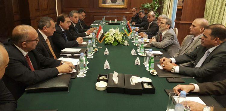 El Molla Held Talks with Arabic Oil Ministers