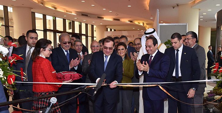 President El Sisi Inaugurated EGYPS 2017 Exhibition