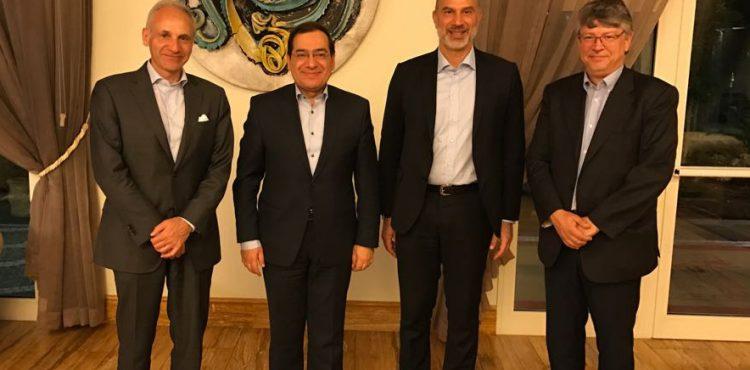 El Molla Met with Edison CEO over Energy Development Talks