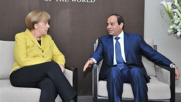 Sisi, Merkel Inaugurate Siemens Power Plants