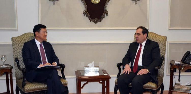 El Molla Meets with Korean Ambassador in Egypt