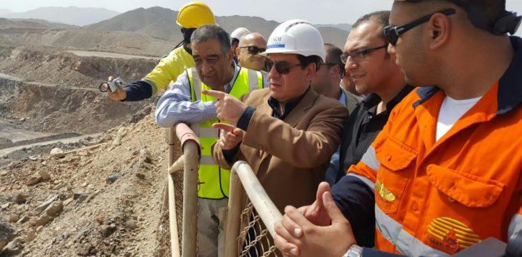 El Molla Visits El-Sukari Gold Mine