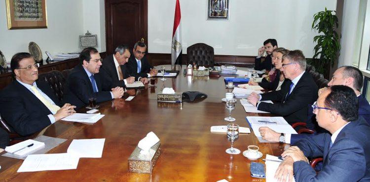 El Molla Meets with the Head of EU Delegation to Cairo