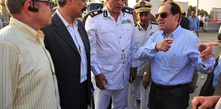 Katameya-Suez Pipeline Caught Fire