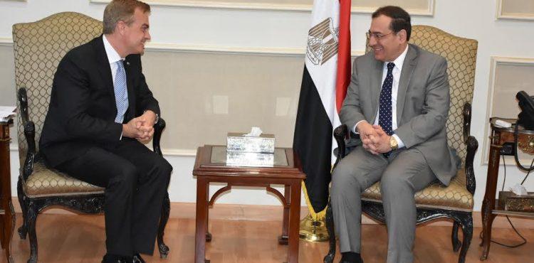 El Molla Met with the CEO of GACIC