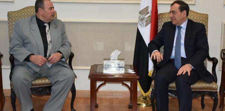 Tarek El Molla Met with the Romanian Ambassador to Egypt
