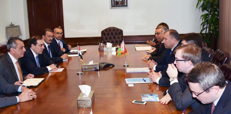 El Molla Met Belarus' Minister of Natural Resources