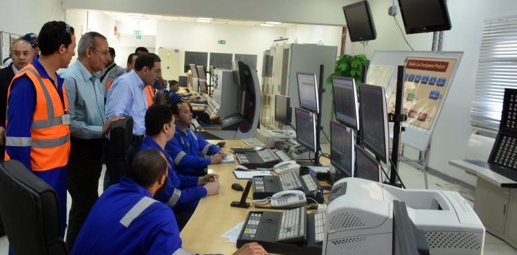 El Molla Visits Khalda Petroleum's Concessions
